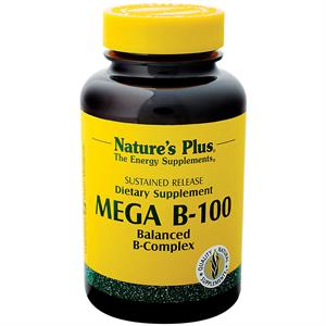 Nature's Plus Mega B-100 Sustained Release Tablets