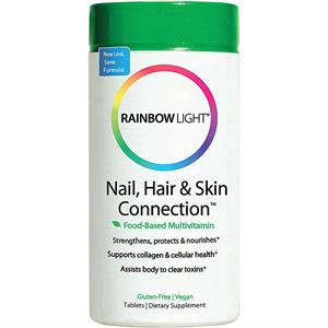 Rainbow Light Nail, Hair & Skin Connection 60 Tablets