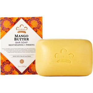 Nubian Heritage Tropical Mango Butter Soap Bar 5 oz