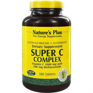Nature's Plus Super C Complex 180 Tablets