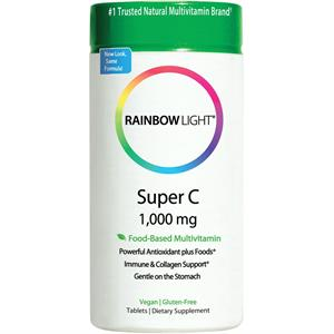 Rainbow Light Super C 1000 120 Tablets