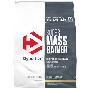 Dymatize Super Mass Gainer Gourmet Vanilla 12 lb - 16 Servings