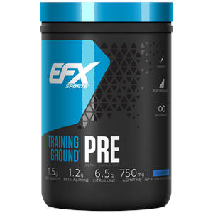EFX Training Ground PRE Pre-Workout Blueberry - 20 Servings