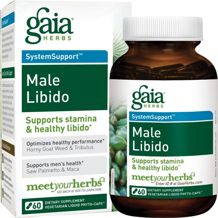 Gaia Herbs Male Libido 60 Capsules