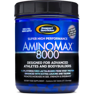Gaspari Nutrition Aminomax 8000 325 Tablets