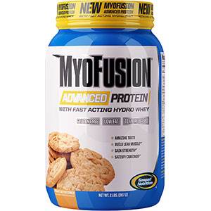 Gaspari MyoFusion Advanced Protein Peanut Butter Cookie 2 lb - 24 Servings