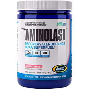 Gaspari Nutrition Aminolast BCAA - Watermelon 420 gm - 30 Servings