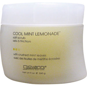 Giovanni Cool Mint Lemonade Salt Scrub 9 oz