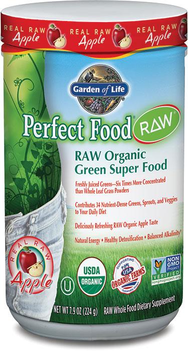 Garden of Life Perfect Food RAW Powder, Apple 224 gm - 30