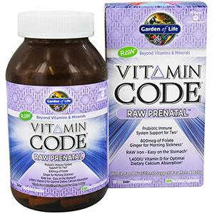 garden of life vitamin code raw prenatal 180 capsules 60 servings - Garden Of Life Prenatal