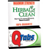 Herbal Clean QTabs By BNG 10 Tablets