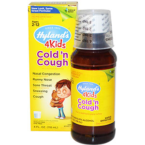 Hyland's 4 Kids Cold 'n Cough 4 oz
