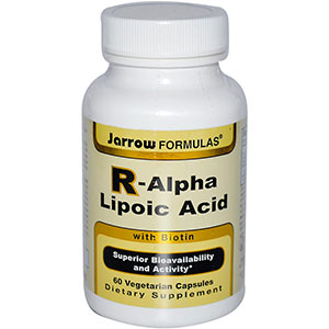 Jarrow Formulas R-Alpha Lipoic Acid with Biotin 60 Capsules