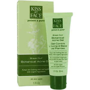 All Natural Break Out (Botanical Acne Gel) from Kiss My Face 1 oz
