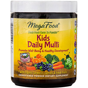 MegaFood Kids Daily Multi Nutrient Booster Powder 30 Servings