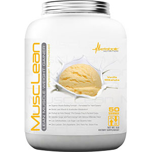 Metabolic Nutrition MuscLean Vanilla Milkshake 5 lb - 50 Servings