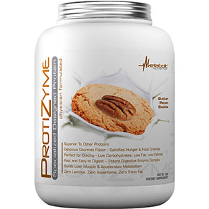 Metabolic Nutrition Protizyme Specialized Protein - Butter Pecan Cookie 5 lb