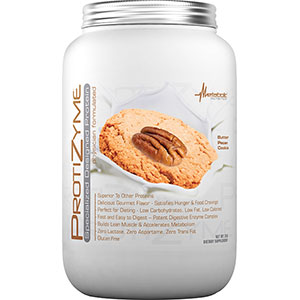Metabolic Nutrition Protizyme Specialized Protein - Butter Pecan Cookie 2 lb