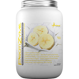 Metabolic Nutrition Protizyme Specialized Designed Protein Banana Cream 2 lb