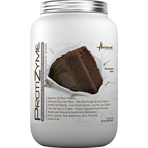 Metabolic Nutrition Protizyme Specialized Protein - Chocolate Cake 2 lb