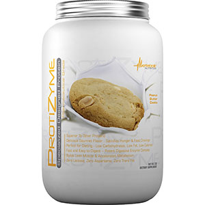 Metabolic Nutrition Protizyme Specialized Protein - Peanut Butter Cookie 2 lb