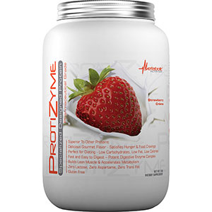 Metabolic Nutrition Protizyme Specialized Protein - Strawberry Cream 2 lb