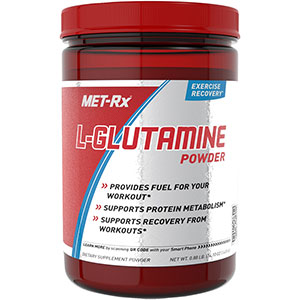 MET-Rx L-Glutamine Powder 400 gm