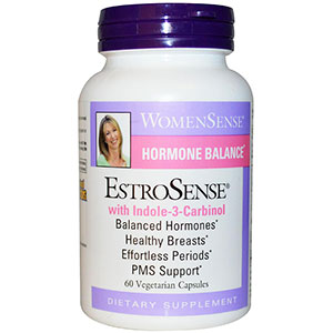 Natural Factors WomenSense EstroSense Hormonal Balance 60 Veggie Caps