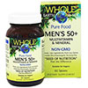Natural Factors Whole Earth & Sea Men's 50+ Multivitamin & Mineral 60 Tablets