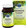 Natural Factors Whole Earth & Sea Women's Multivitamin & Mineral 60 Tablets