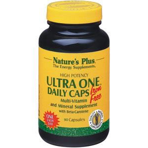 Nature's Plus Ultra One Daily Caps Iron-Free