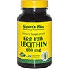 Nature's Plus Egg Yolk Lecithin 600 mg - 90 Vcaps
