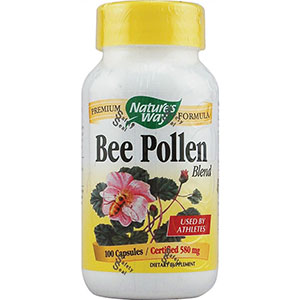 Nature's Way Bee Pollen Blend 100 Capsules