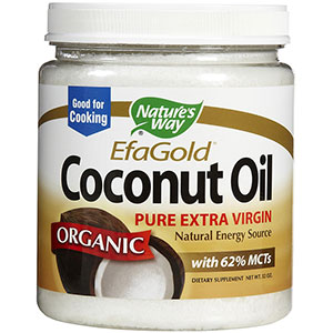 Nature's Way Coconut Oil 32 oz - 64 Servings