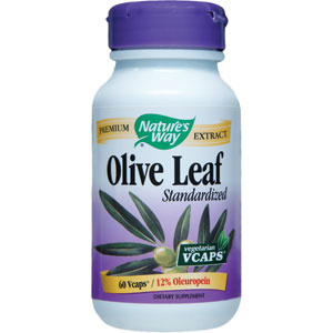Nature's Way Olive Leaf Standardized Extract 60 Capsules