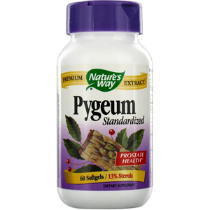Nature's Way Pygeum Standardized 60 Softgels