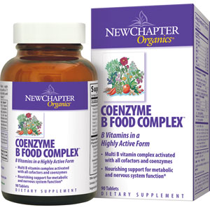 New Chapter Coenzyme B Food Complex 90 Tablets
