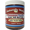 Naturally Nutty Organic Cinnamon Vanilla Almond Butter 8 oz - 7 Servings
