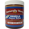 Naturally Nutty Organic Vanilla Peanut Butter 8 oz - 7 Servings