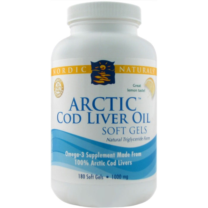 Nordic Naturals Cod Liver Oil With D