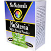NuNaturals NuStevia White Stevia Powder - 100 Packets