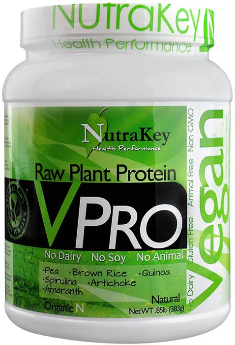 Nutrakey V Pro Vegan Protein Natural 1 Lb 15 Servings