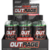 Nutrex OUTRAGE Extreme Energy Shot - Green Apple - Case Of 12