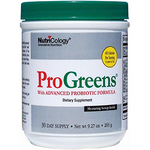 NutriCology ProGreens 265 gm - 30 Day Supply