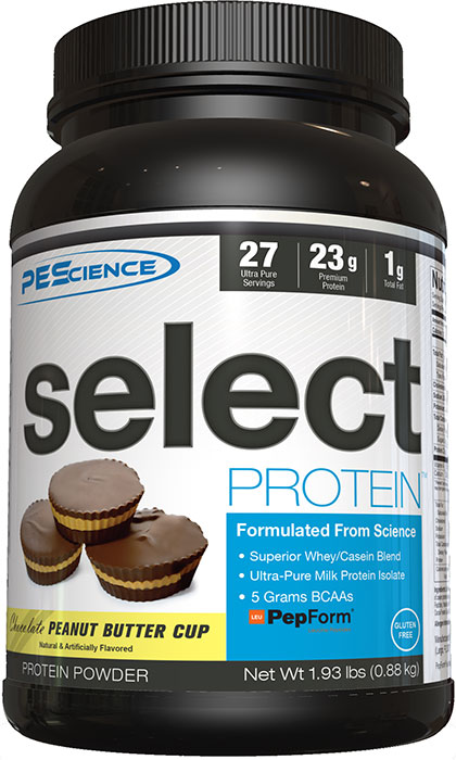 Pes Select Protein Chocolate Peanut Butter Cup 193 Lb 27