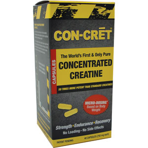 Con-Cret Concentrated Creatine 48 Capsules