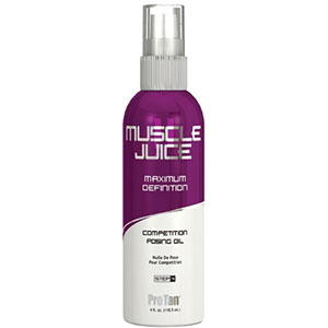 Pro Tan Muscle Juice Competition Posing Oil 4 oz