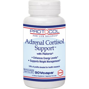 Protocol for Life Balance Adrenal Cortisol Support 90 Vcaps