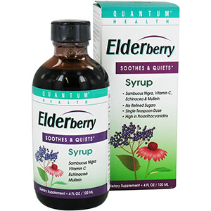 Quantum Health Elderberry Syrup 4 oz - 24 Servings