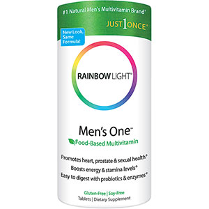 Rainbow Light Men's One Multivitamin / Mineral Tablets